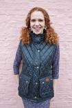 http://www.tweedvixen.co.uk/black-quilted-wax-gilet-290-p.asp