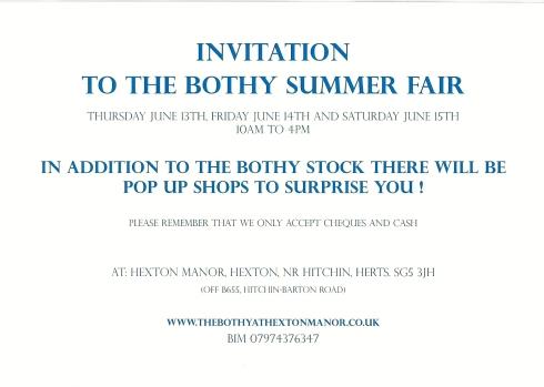 Bothy Invite