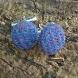 tweed cufflinks